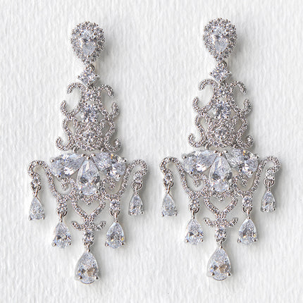 Regal Cascading Chandelier Earrings