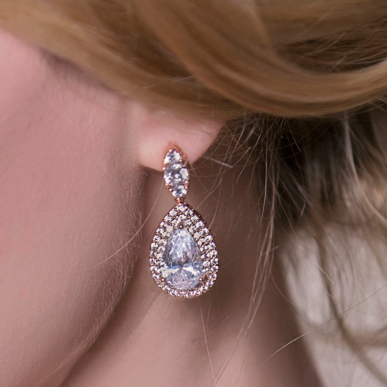 Margaux Lux Teardrop Earrings
