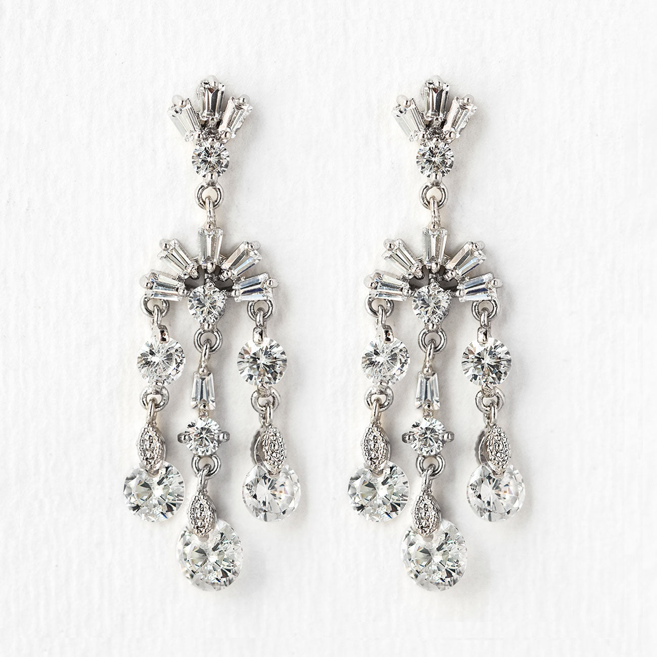 Deco Dainty Drop Earrings