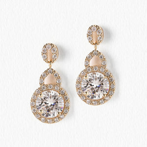 Sophia Crystal Drop Earrings