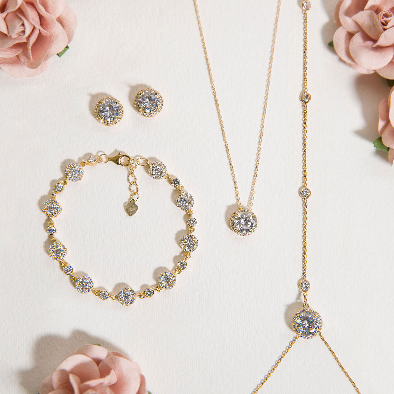 Sophia Backdrop Necklace Set