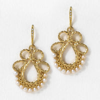 Esther Pearl Drop Earrings - Amy O. Bridal