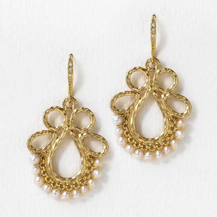 Esther Pearl Drop Earrings