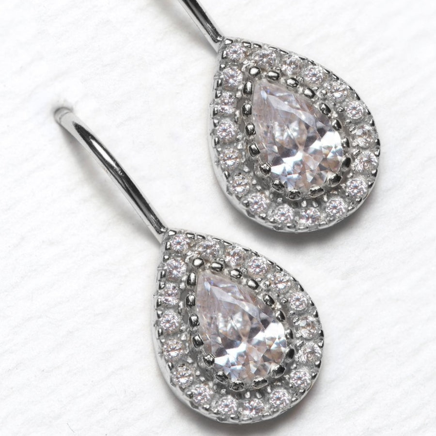 Margaux Petite Drop Earrings - Amy O. Bridal