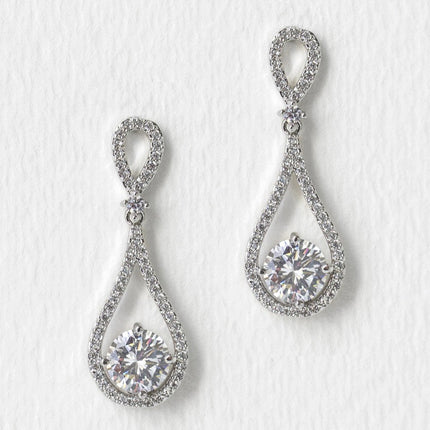 Sophia Classic Drop Earrings
