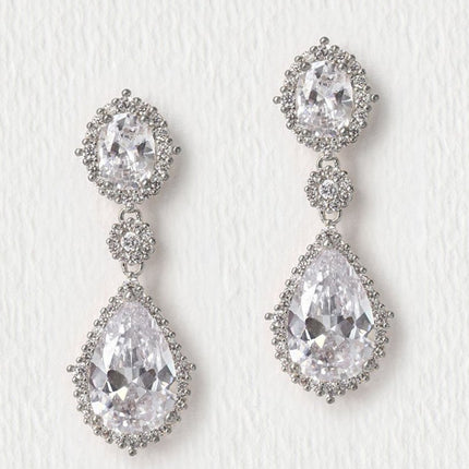 Cleo Pear Drop Earrings