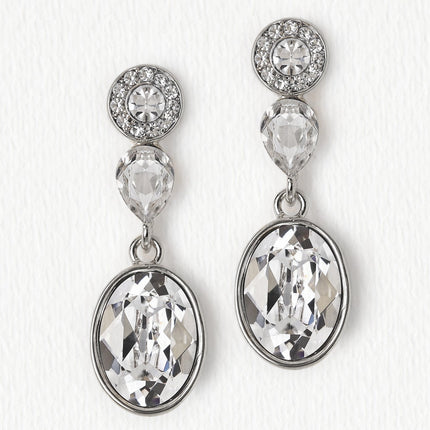 Astrid Swarovski Drop Earrings