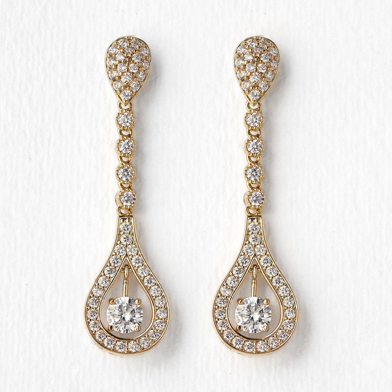 Bella Long Drop Earrings