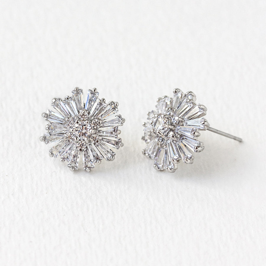 Starburst Stud Earrings - Amy O. Bridal