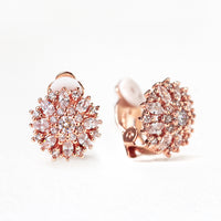 Ray Crystal Stud Earrings - Amy O. Bridal