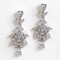 Marquise Chandelier Earrings - Amy O. Bridal