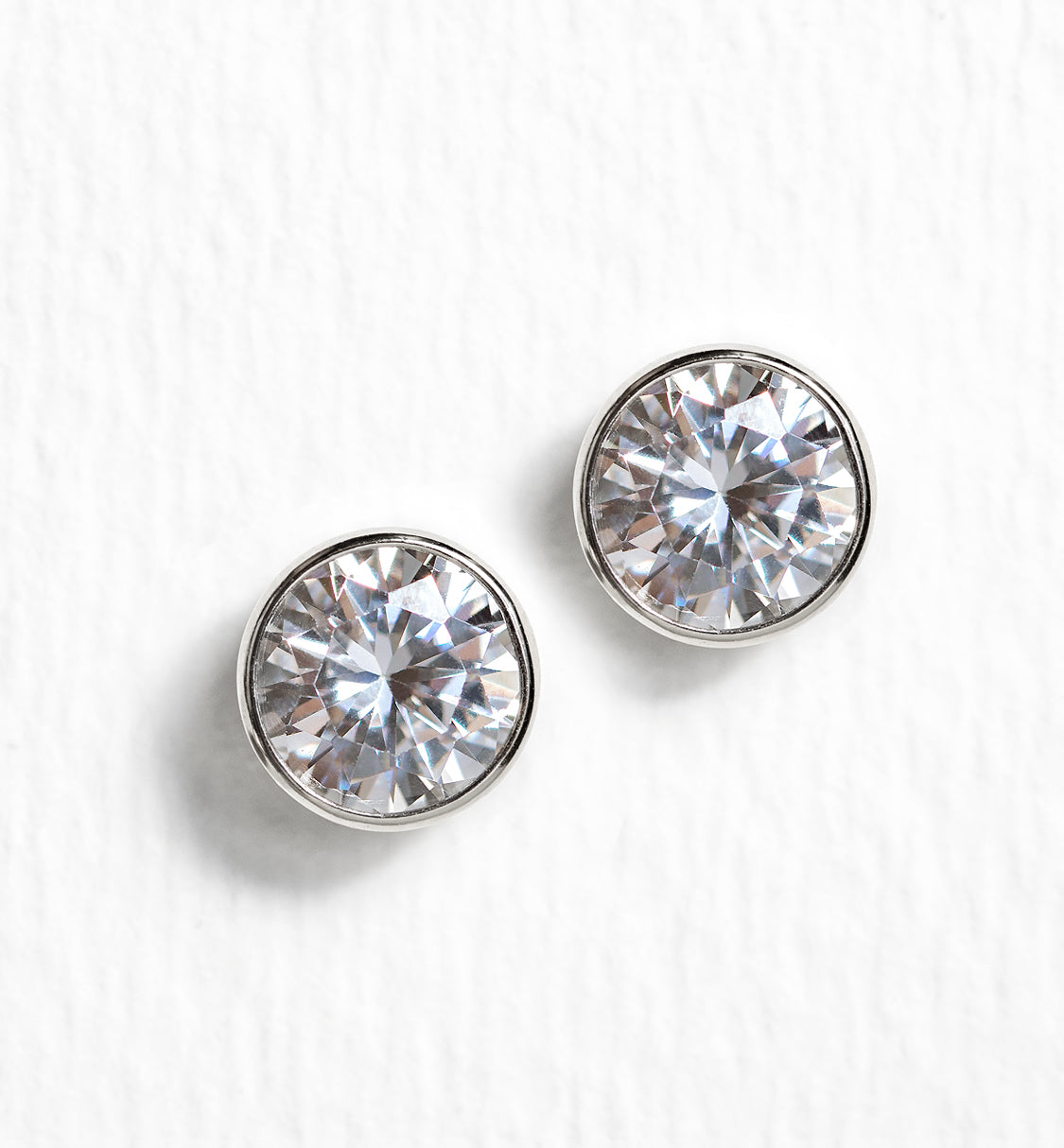 Dakota Crystal Stud Earrings - Amy O. Bridal