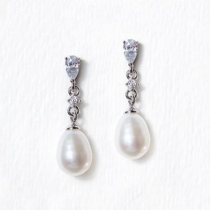 Perla Classic Dainty Drop Earrings