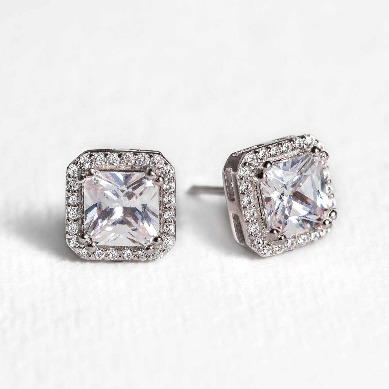 Ella Radiant Stud Earrings