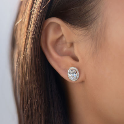 Ovali Stud Earrings