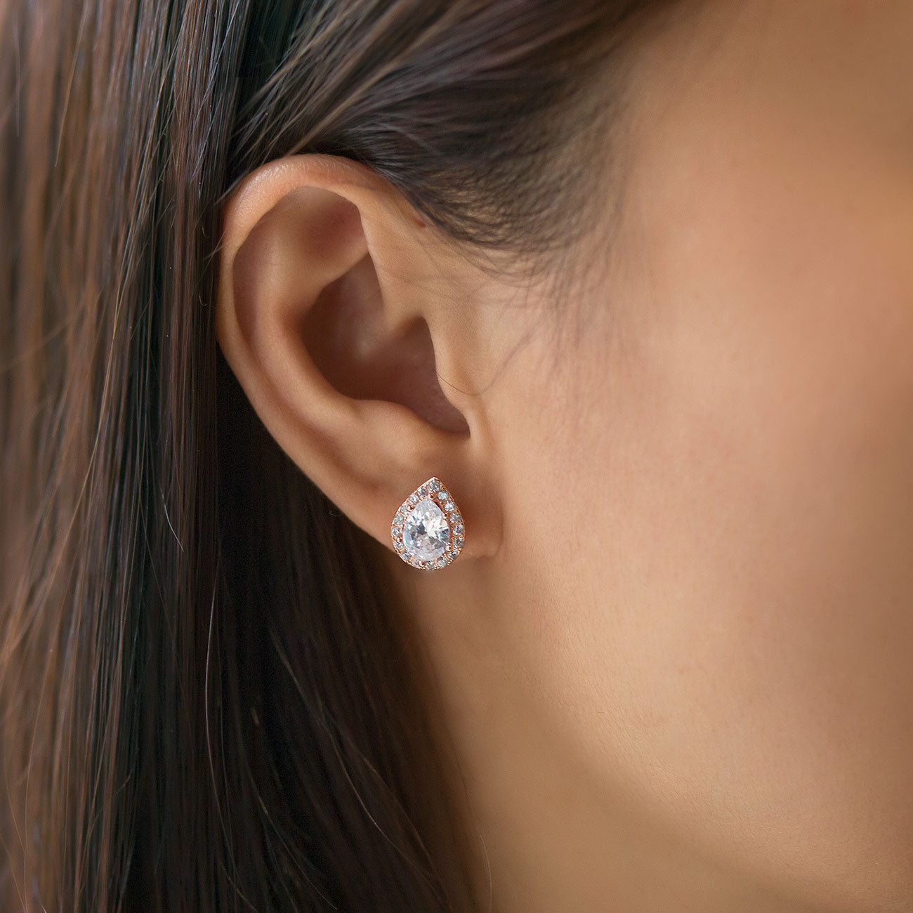 Margaux Teardrop Stud Earrings