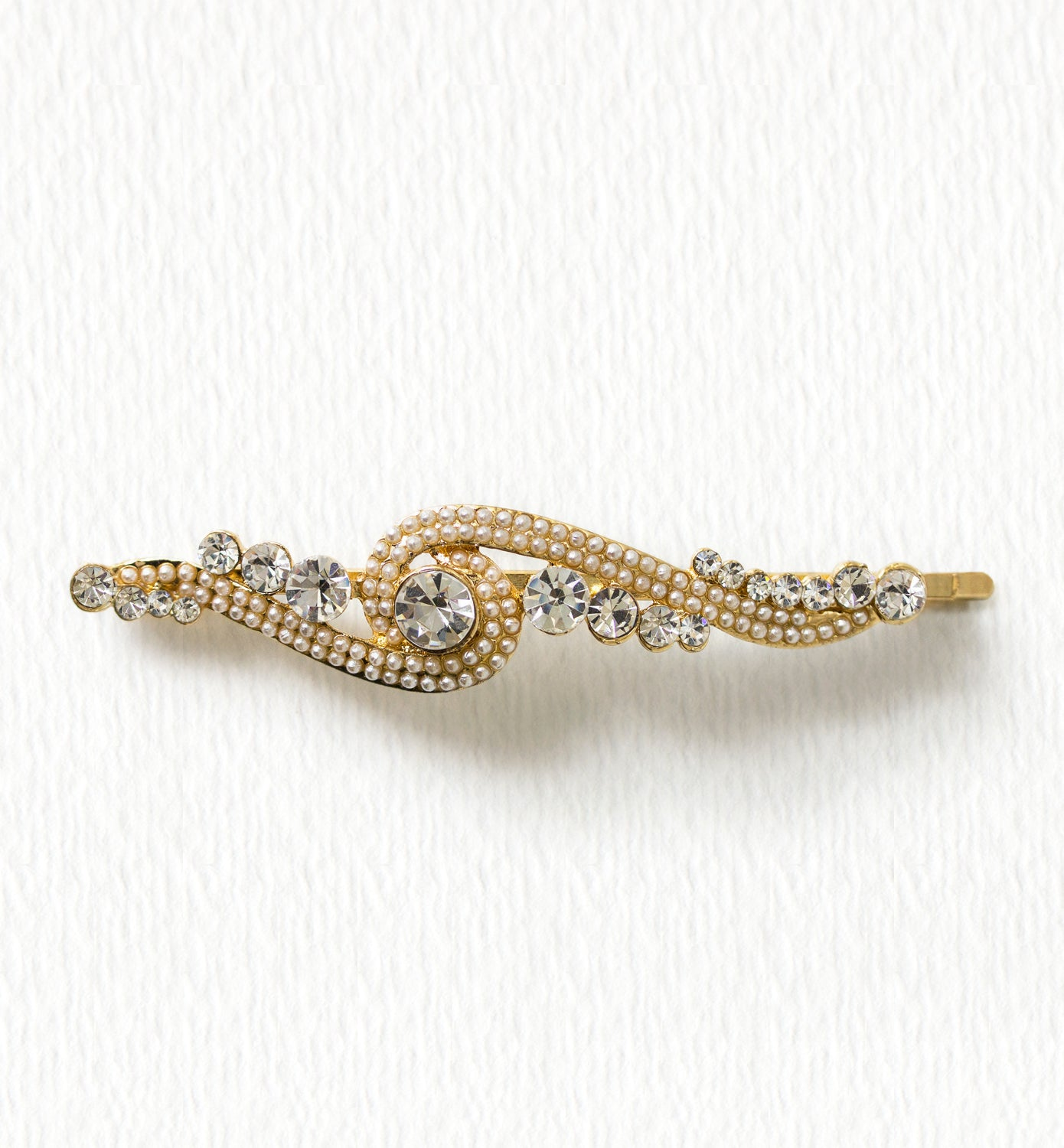 Jolie Vintage Pearl Hair Pin - Amy O. Bridal