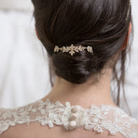 Monet Floral Hair Comb - Amy O. Bridal
