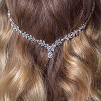 Monet Eternity Wreath Headpiece - Amy O. Bridal