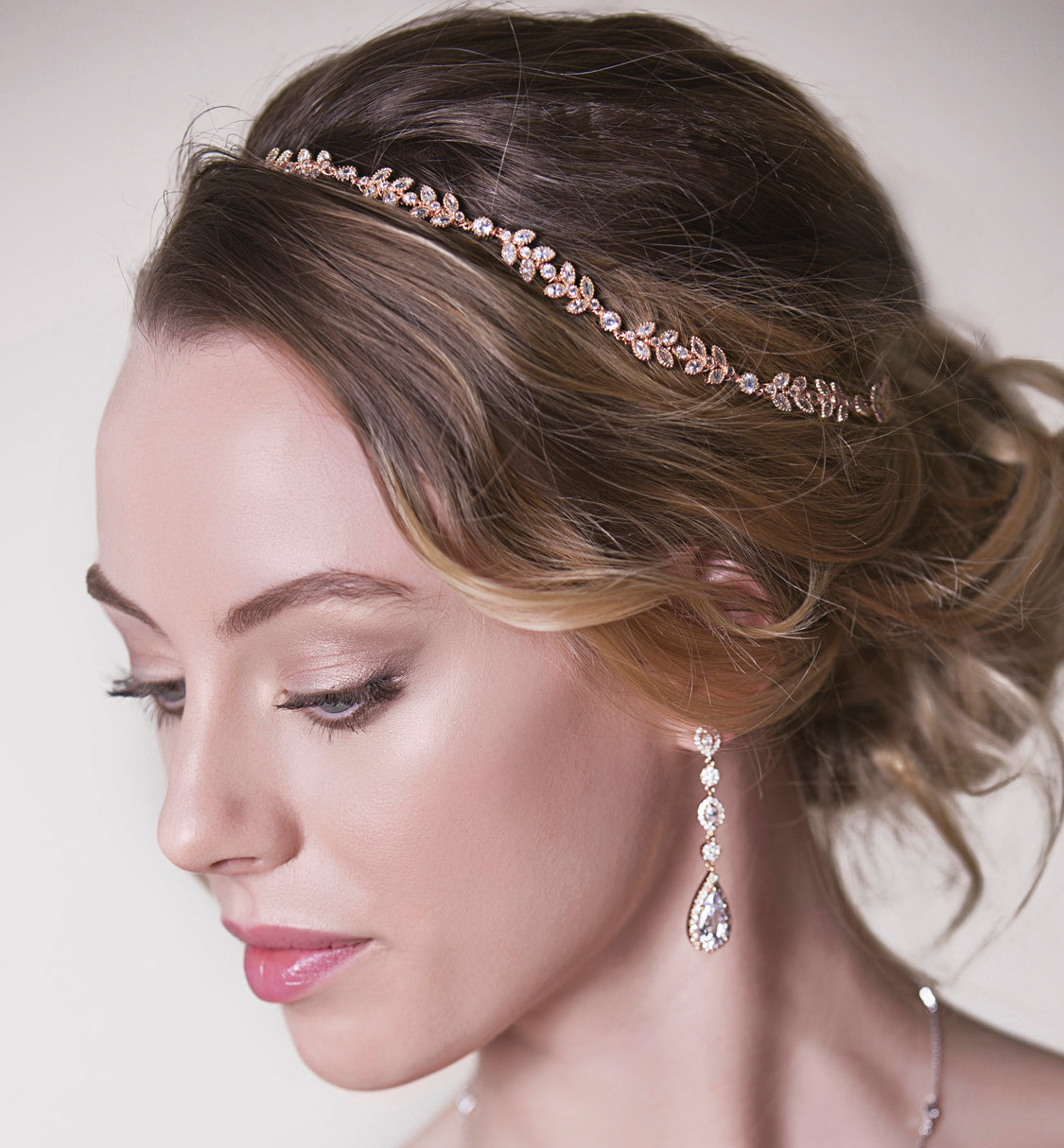 Boho Hair Vine Halo Headpiece