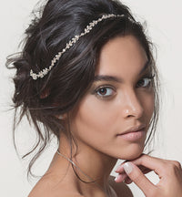 Monet Floral Wreath Headpiece - Amy O. Bridal
