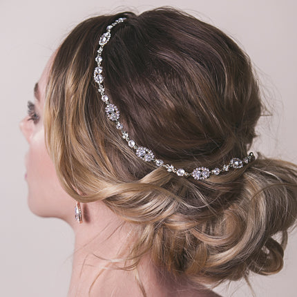 Jules Swarovski Crystal Halo Wreath