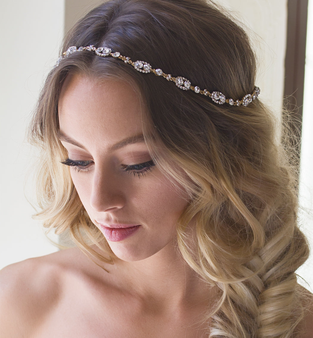 Jules Swarovski Crystal Halo Wreath - Amy O. Bridal