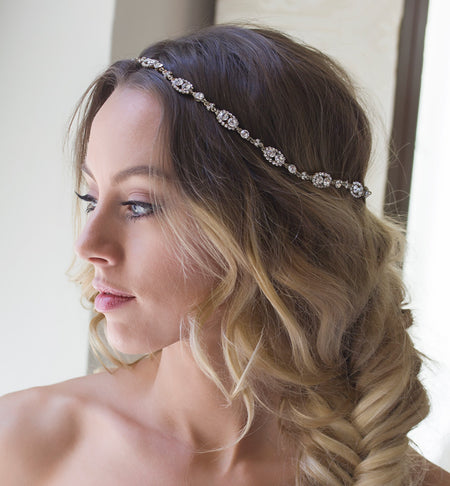 Cleo Silver Halo Wreath