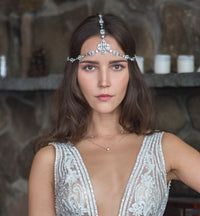 Jules Swarovski Crystal Headpiece - Amy O. Bridal