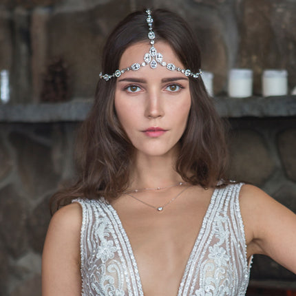 Jules Swarovski Crystal Headpiece