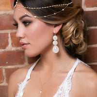 Dakota Pearl Headpiece - Amy O. Bridal