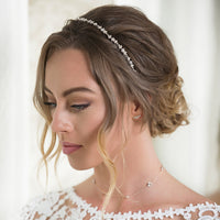 Ariel Crystal Earring Climbers - Amy O. Bridal