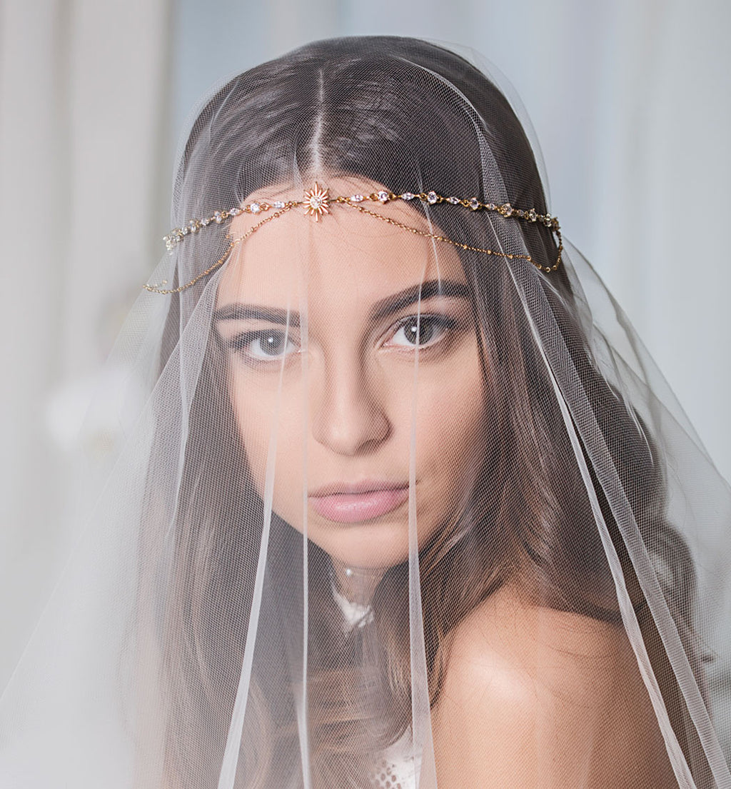 Grecian Gold Star Headpiece
