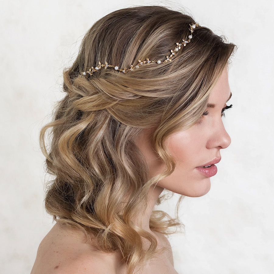 Meadow Pearl Headband - Amy O. Bridal