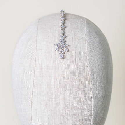 Crystal Maang Tikka Headpiece