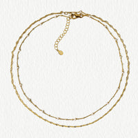 Perla Layered Choker Necklace