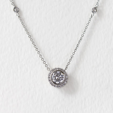 Sophia Crystal Chain Necklace
