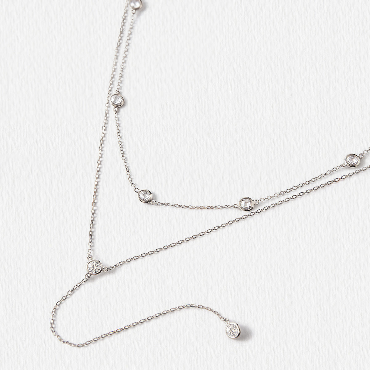 Dakota Choker Lariat Necklace Set