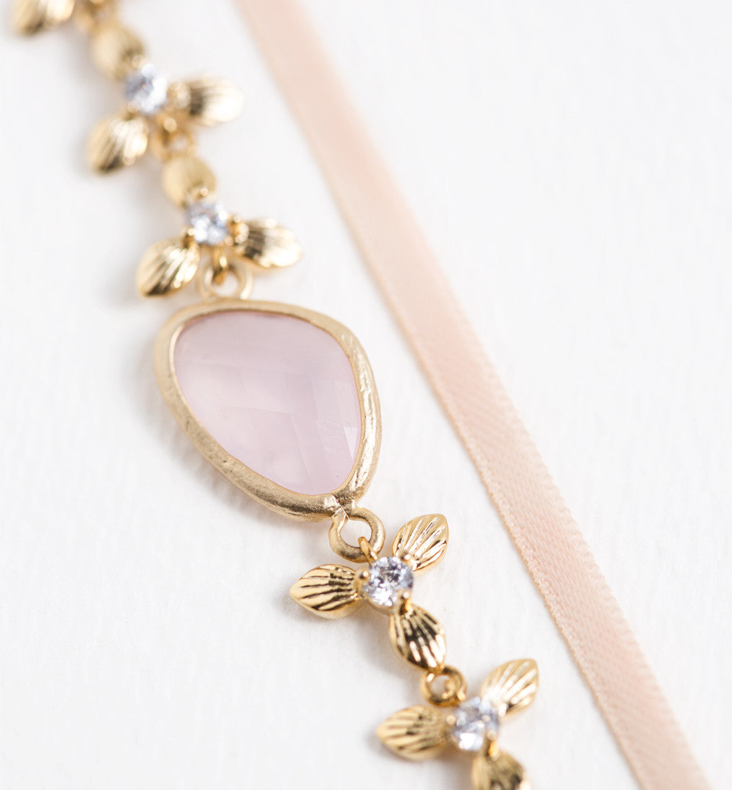 Meadow Choker Necklace - Amy O. Bridal