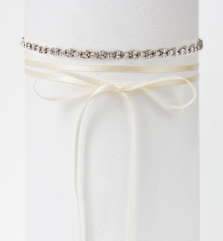 Marquise Deco Choker Necklace - Amy O. Bridal