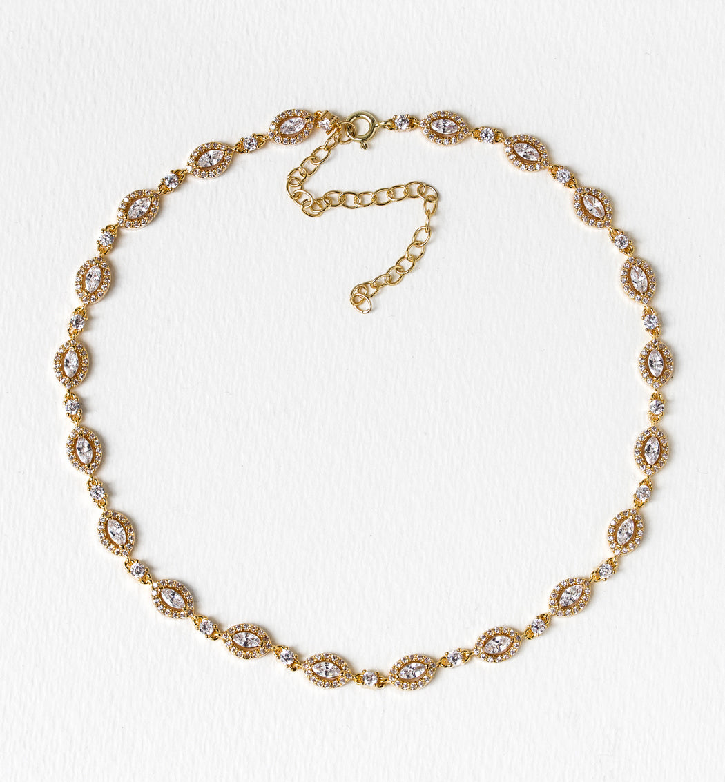 Daisy Choker Necklace - Amy O. Bridal