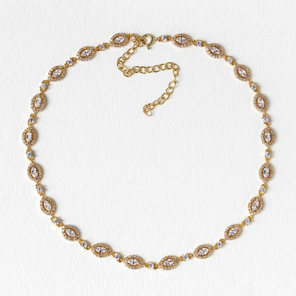 Daisy Marquise Choker Necklace