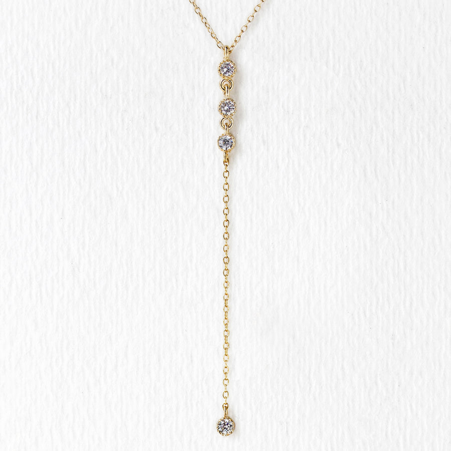 Dakota Y-Lariat Necklace - Amy O. Bridal
