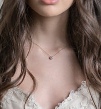 Dakota Crystal Pendant Necklace - Amy O. Bridal