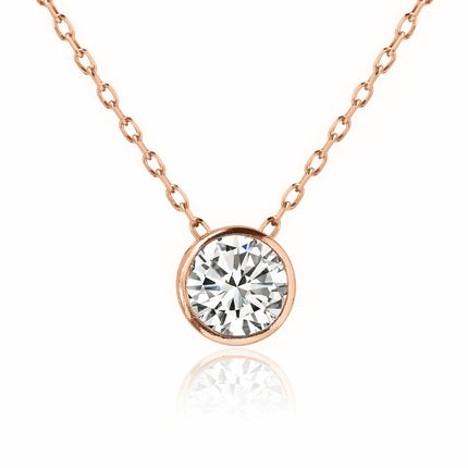 Bridesmaids Gift Solitaire Necklace