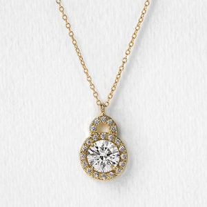 Sophia Crystal Pendant Necklace