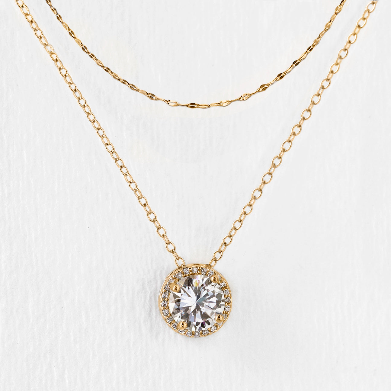 Sophia Round Layered Necklace