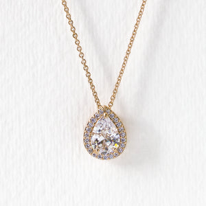 Margaux Teardrop Necklace GM
