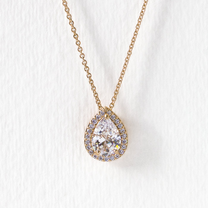 Margaux Teardrop Pendant Necklace