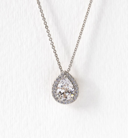 Margaux Teardrop Pendant Necklace - Amy O. Bridal